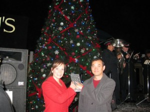 tree lighting mission valley