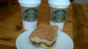 starbucks coffee cips & coffee cake