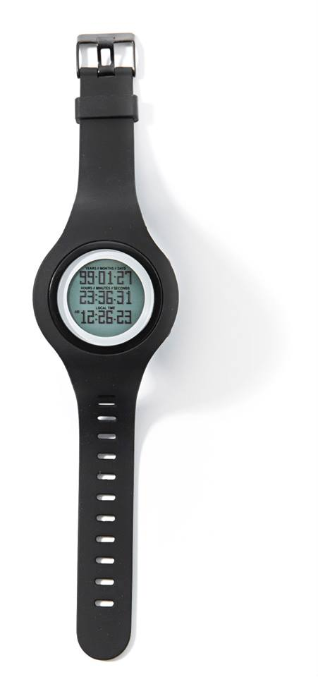 tikker watch black with band