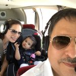 Baby's First Flight With Her Dad as the Pilot